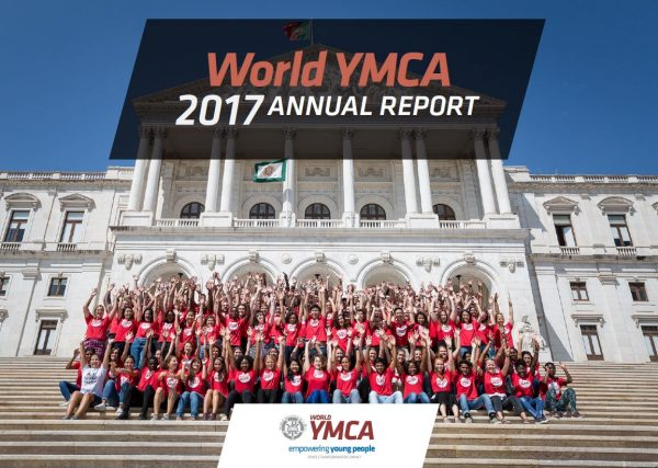 Annual Report 2017 World YMCA cover