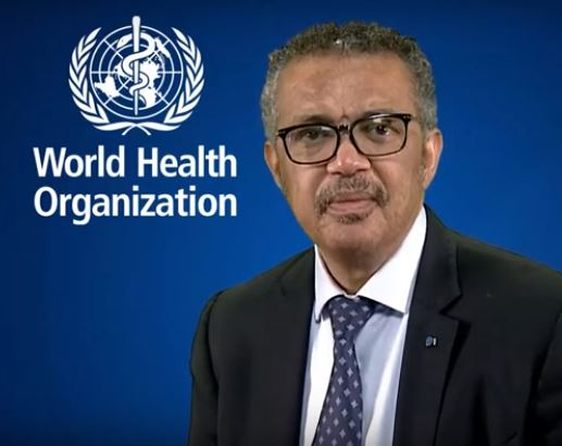 Message from WHO Director-General Dr Tedros Adhanom Ghebreyesus - YMCA  International - World Alliance of YMCAs